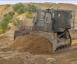 توغل جرافات وآليات تابعة للعدو الإسرائيلي شرق قطاع غزة
