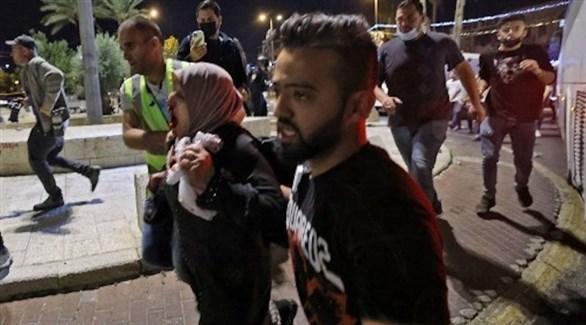 إصابة مئات الفلسطينيين في القدس